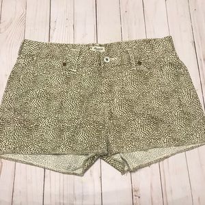 Madewell Safari Cutoff  Shorts Size 25